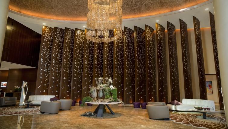Lobby at City Centre Rotana Apartments