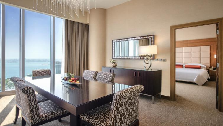 Dining space at City Centre Rotana Apartments