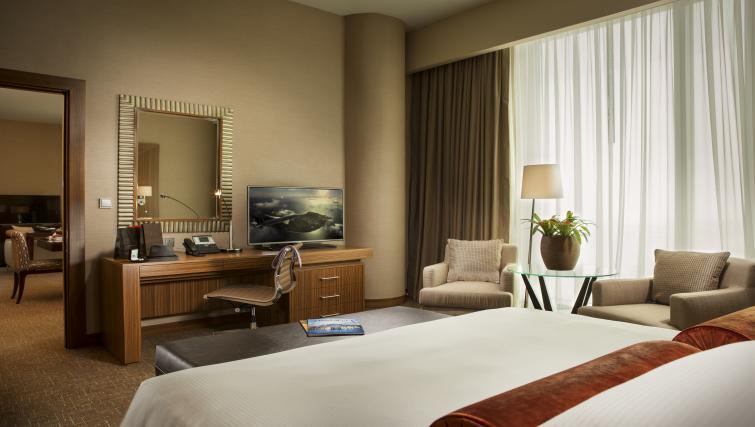Bedroom at City Centre Rotana Apartments