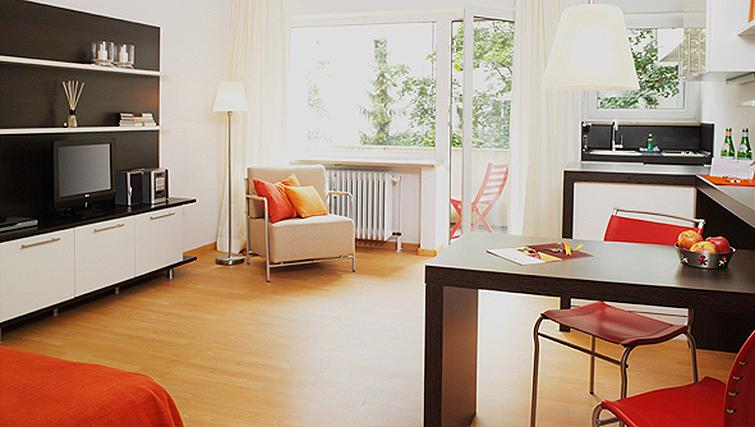 Desirable balcony in Frederics Smart Hohenzollernplatz Apartments
