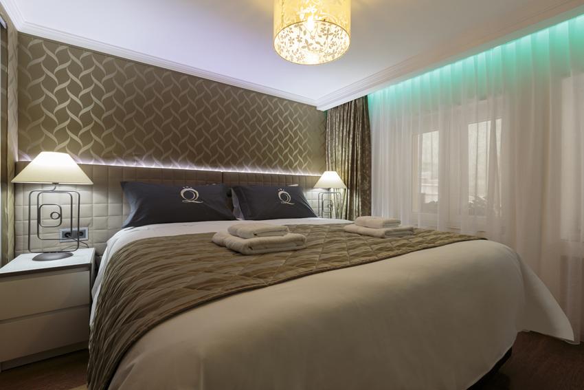 Bedroom at Villa Vinicia Apartments