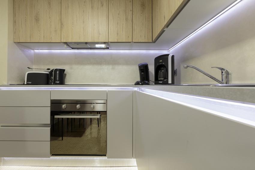 Kitchen at Villa Vinicia Apartments