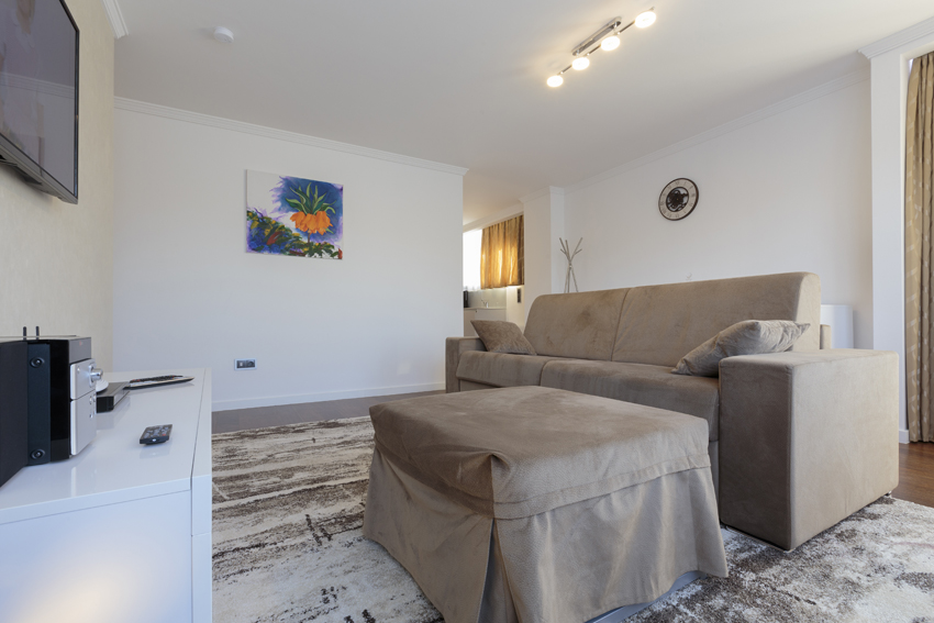 Lounge area at Villa Vinicia Apartments