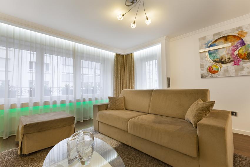 Sofa at Villa Vinicia Apartments
