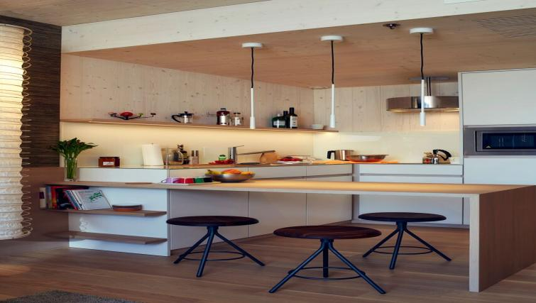 Kitchen at Soulmade Apartments