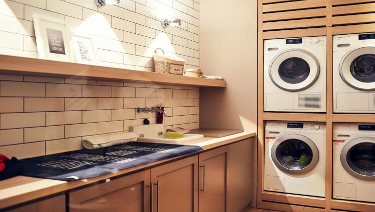 Laundry room at Soulmade Apartments