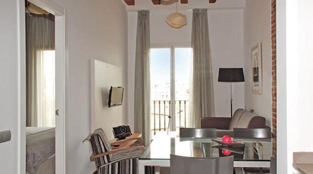 Living area at MH Apartments Tetuan