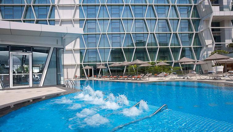 Pool at Fraser Changi City Singapore