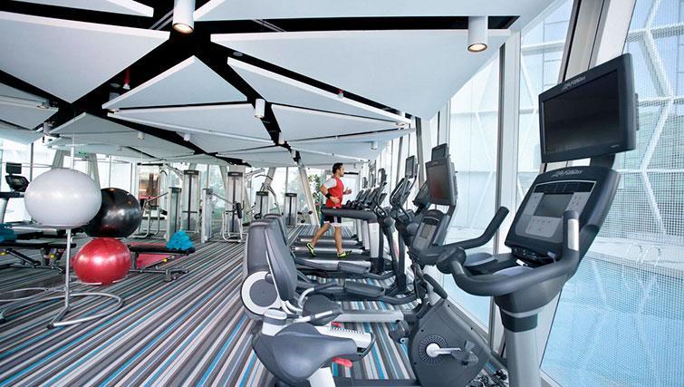 Gym at Fraser Changi City Singapore