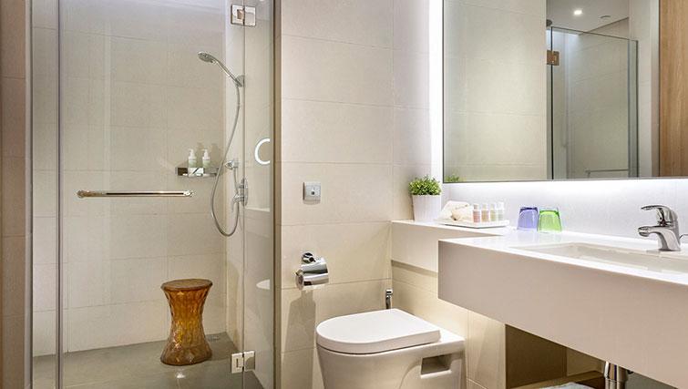 Bathroom at Fraser Changi City Singapore