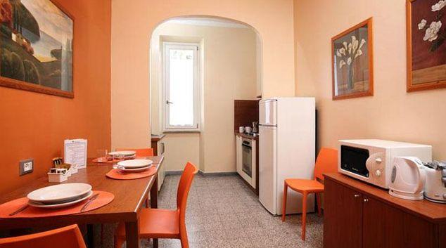 Living area at Vaschette Apartment