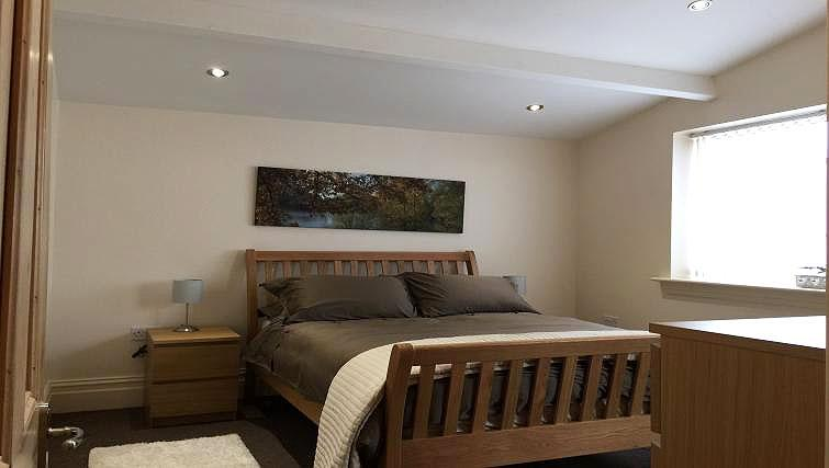 Double bedroom at Brinkburn Serviced Apartments
