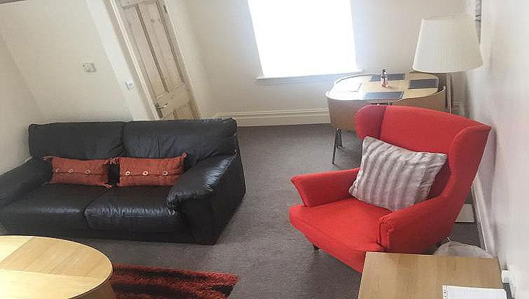 Living space at Brinkburn Serviced Apartments