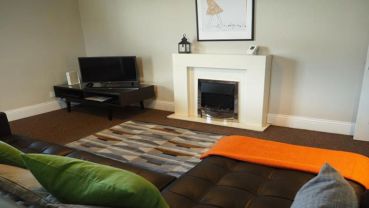 Living space at Raby Street Apartment