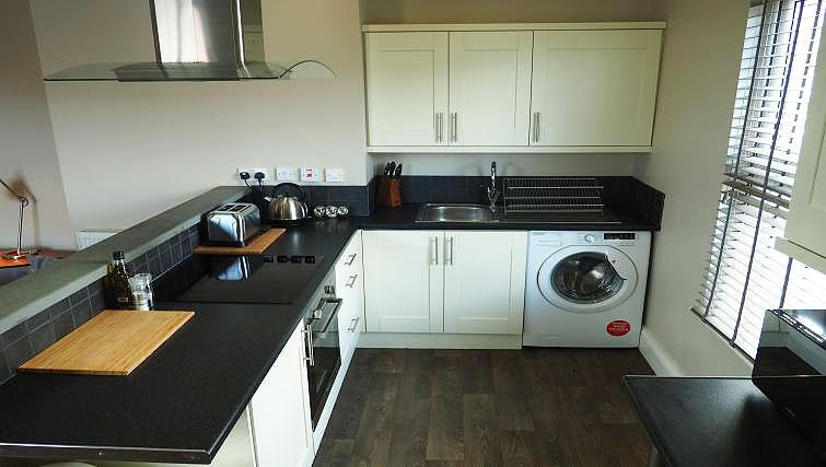Kitchen at Raby Street Apartment