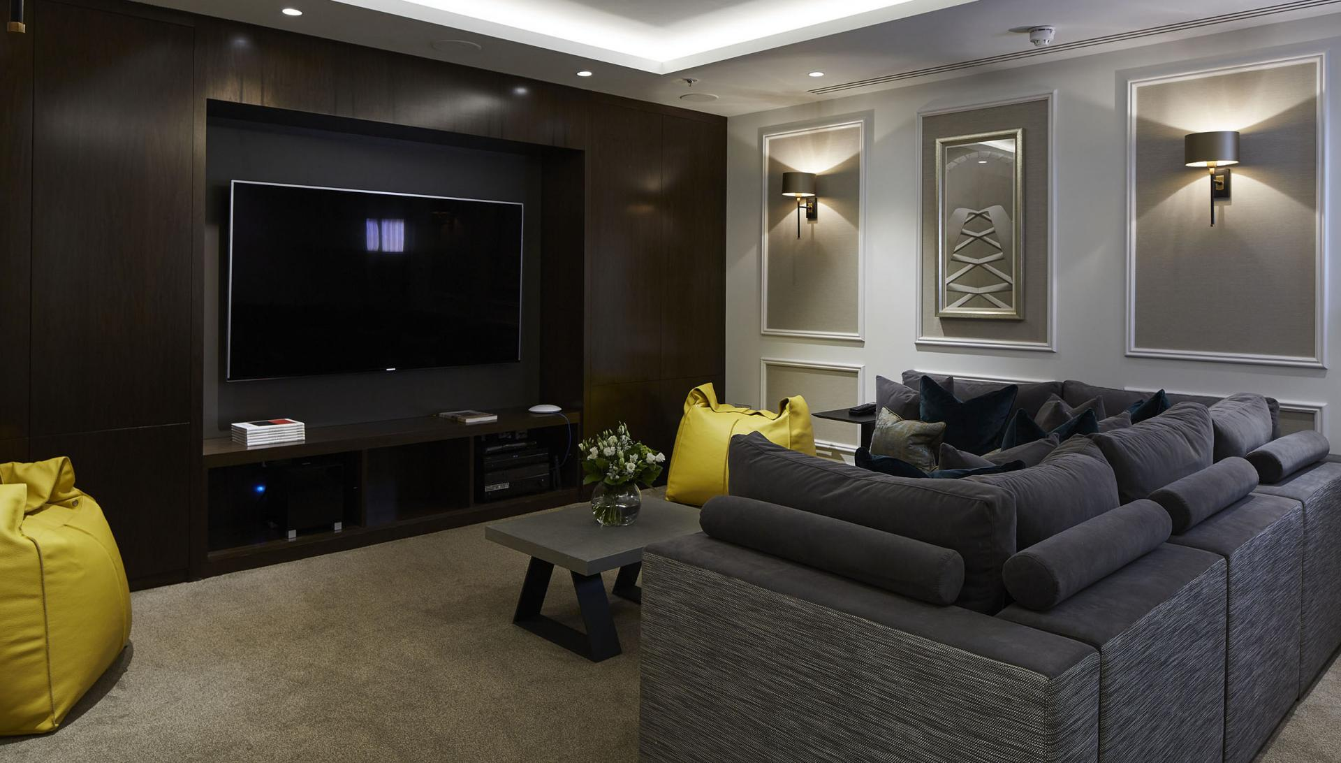 Living area at Cheval Hyde Park Gate