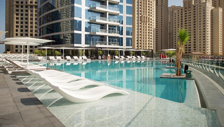 Pool at InterContinental Dubai Marina