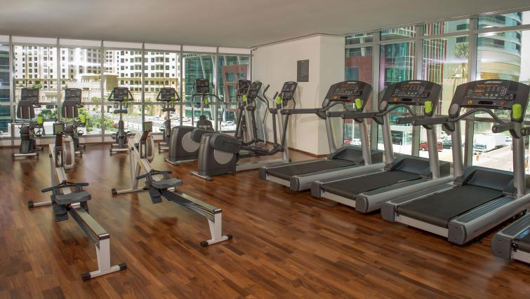 Gym at InterContinental Dubai Marina