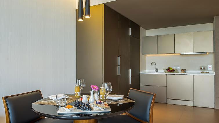 Kitchen at InterContinental Dubai Marina