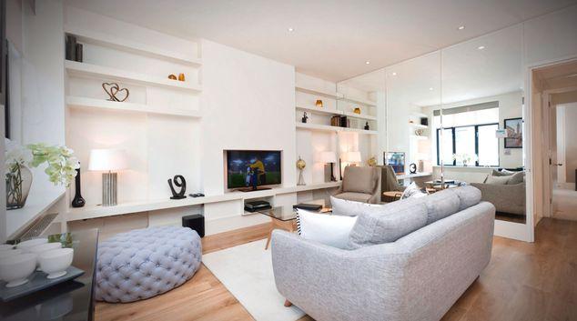 Living room at The Armitage Marylebone