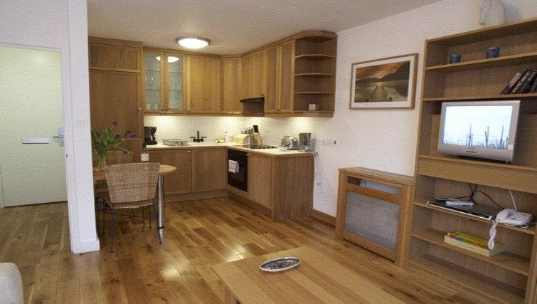 Modern kitchen at Presidential Marylebone Apartments