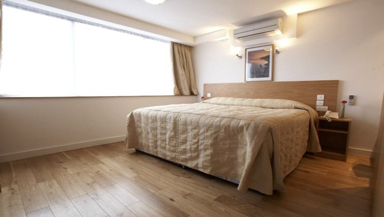Stunning bedroom at Presidential Marylebone Apartments