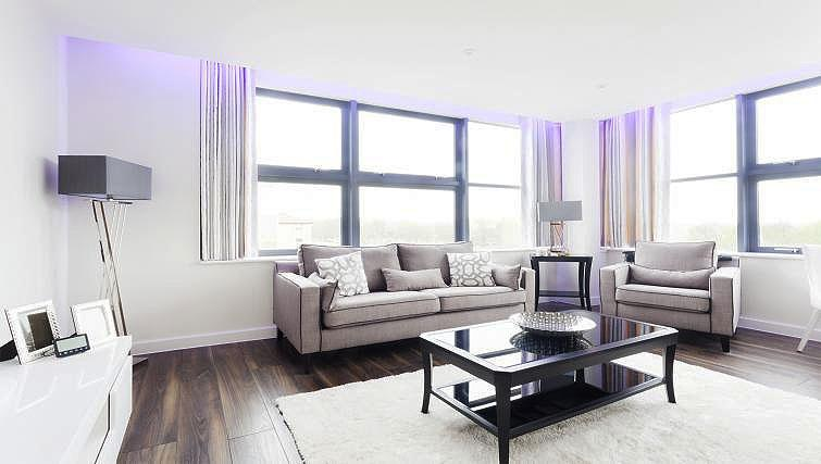 Living area at City Stay Apartments Centro