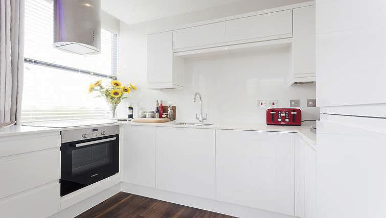 Kitchen at City Stay Apartments Centro
