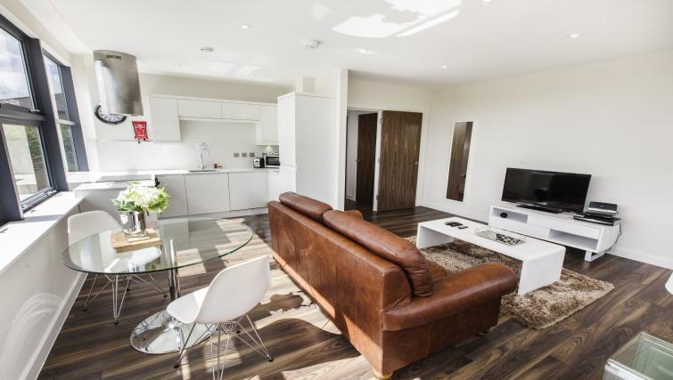 Ideal living area at City Stay Apartments Centro