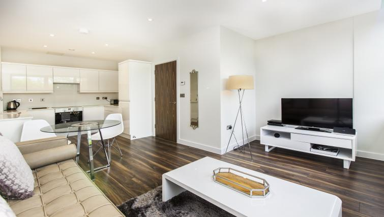 Gorgeous living area at City Stay Apartments Centro