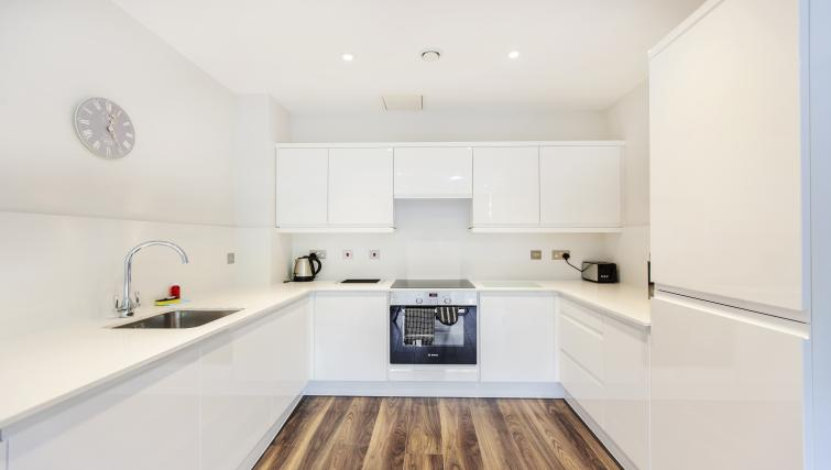 Modern kitchen at City Stay Apartments Centro