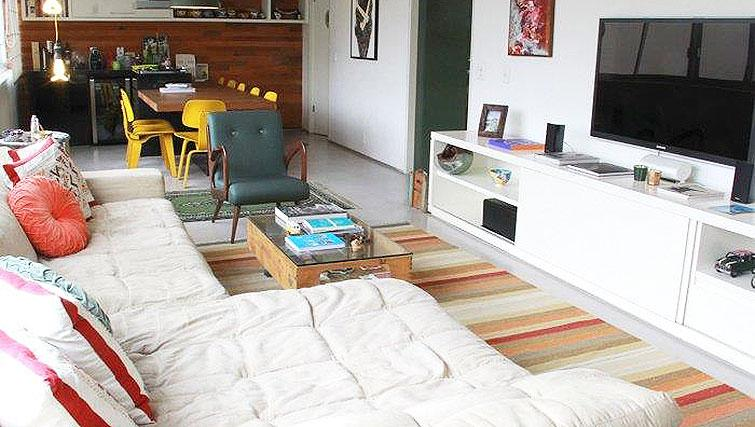 Bright living area at Redfern Apartment