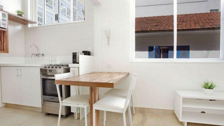 Dining area at Visconde Bello Apartment