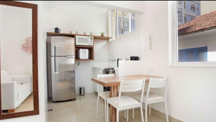 Kitchen at Visconde Bello Apartment