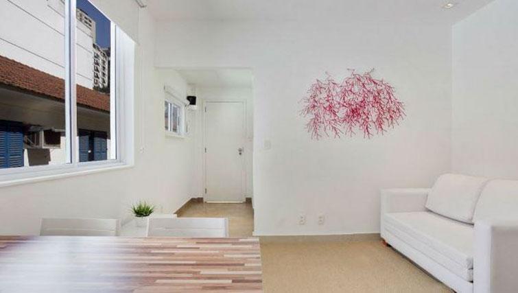 Living area at Visconde Bello Apartment