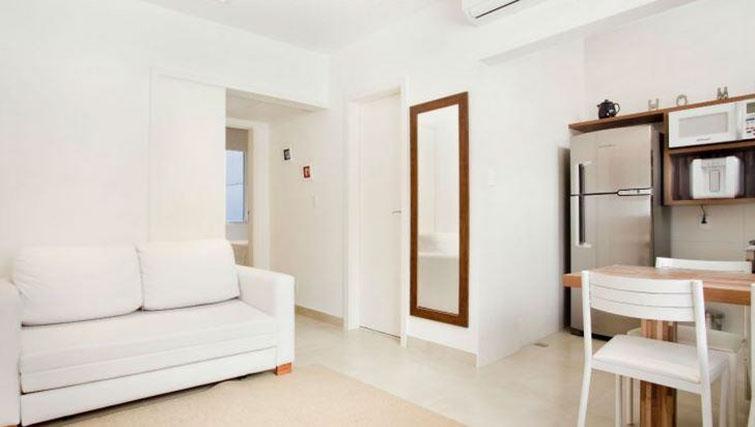 Sofa at Visconde Bello Apartment