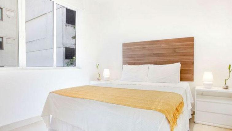 Bedroom at Visconde Bello Apartment