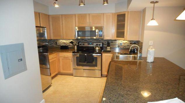 Kitchen at 425 Mass Apartments Washington