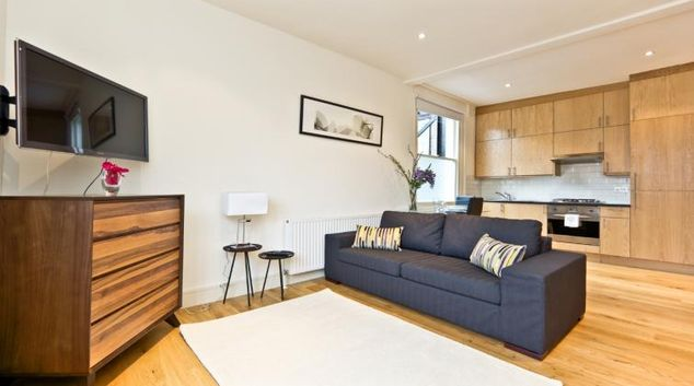 Open plan living area at The Armitage Notting Hill