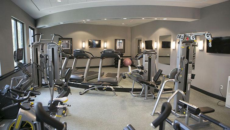 Gym at Bank Street Commons Apartments