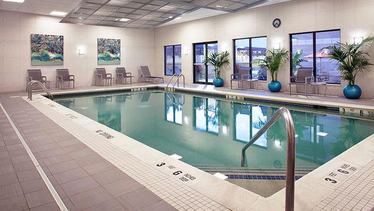 Pool at Bank Street Commons Apartments