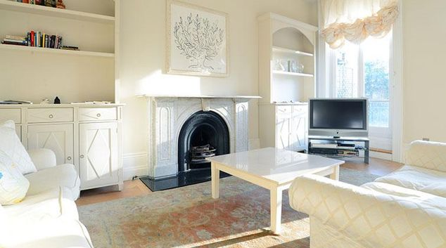 Living area at Redcliffe Square Apartment