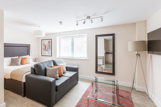 Studio at Central Gate Apartments