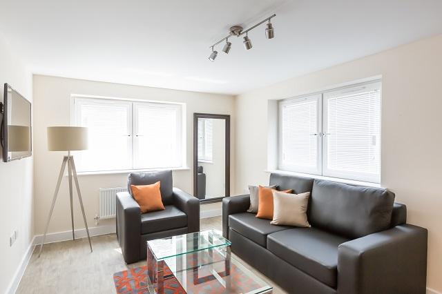 Sofa at Central Gate Apartments