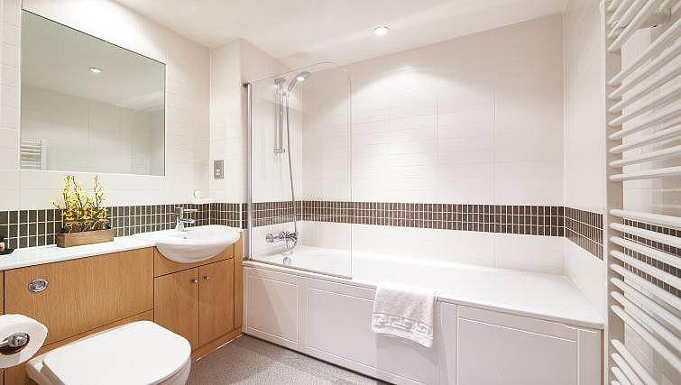 Bathroom at Vizion Milton Keynes Apartments