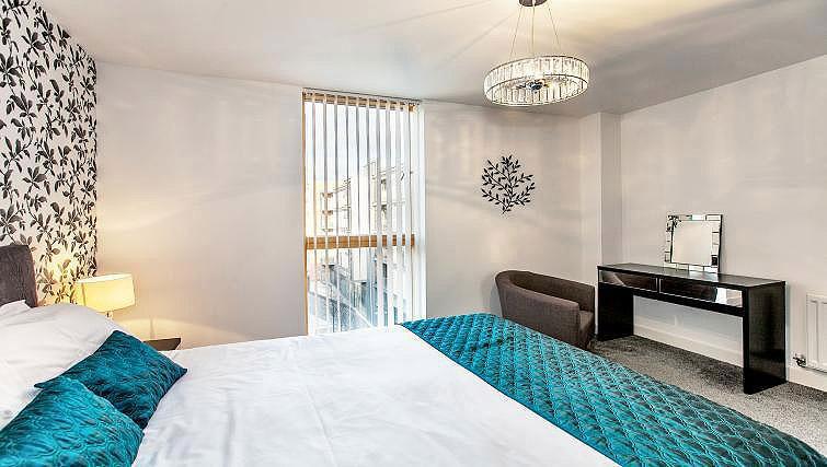 Bedroom at Vizion Milton Keynes Apartments