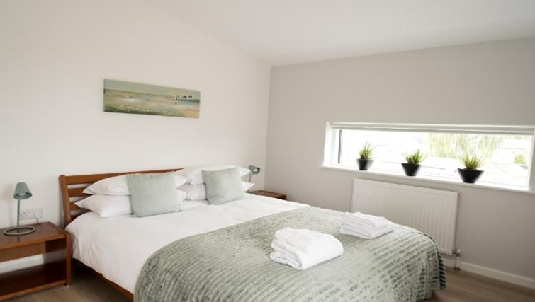 Bedroom at Nelson Court Apartments