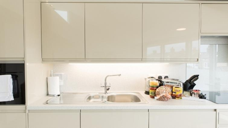 Kitchen at Nelson Court Apartments