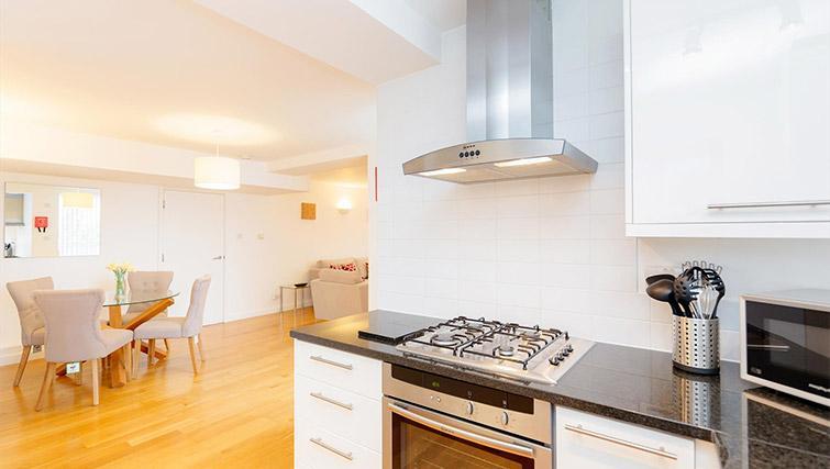 Kitchen at Kew Bridge Court Furnished Apartments
