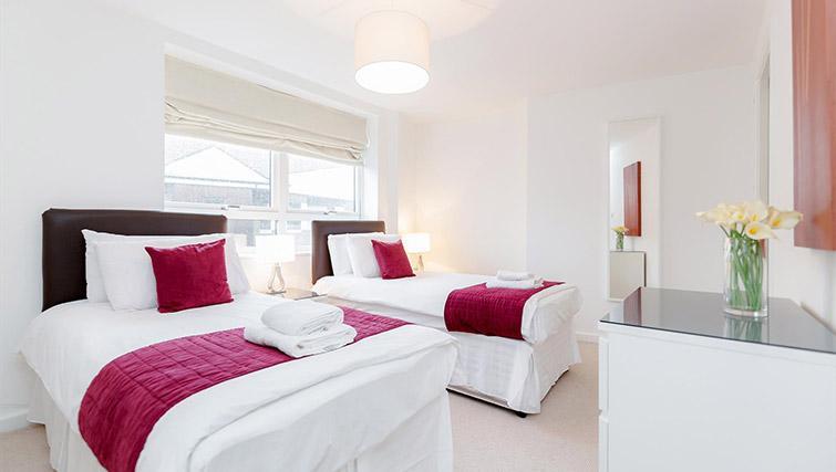 Bedroom at Kew Bridge Court Furnished Apartments